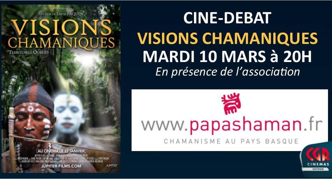 Ciné-débat : Visions Chamaniques – CGR Bayonne